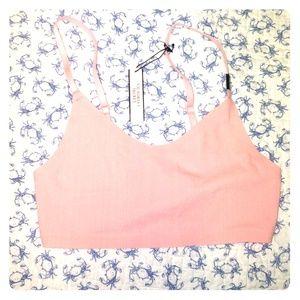Victoria's secret bralette lace pink XS